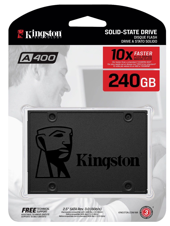 Disco sólido SSD 240GB sata A400 Kingstone